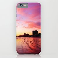 iPhone & iPod Case featuring Sherbet Skies by Monica Ortel ❖