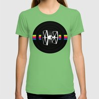 DS-61-2 Womens Fitted Tee Grass SMALL