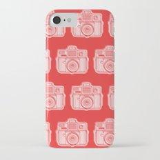 I Still Shoot Film Holga Logo - Reversed Red iPhone 7 Slim Case