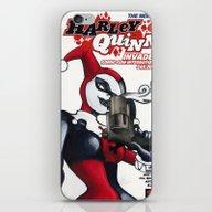 Harley Quinn #1 iPhone & iPod Skin