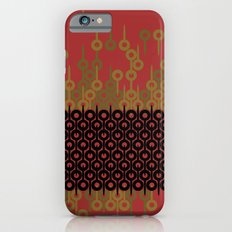 Pattern 1, Red iPhone 6s Slim Case