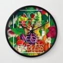 Nice People Eat Vegetables (Feat. Lidija Paradinovic) Wall Clock
