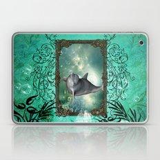Funny Dolphin  Laptop & iPad Skin