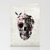 Istanbul Skull Stationery Cards