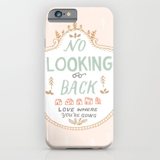 No Looking Back iPhone & iPod Case