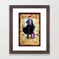 Captain Jack's Original Hypervodka Framed Art Print