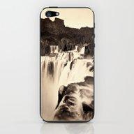 Vintage Waterfall iPhone & iPod Skin