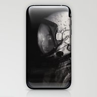 Staring Into Space iPhone & iPod Skin
