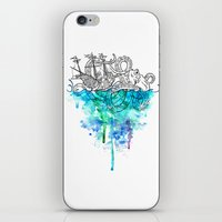 From The Deep, Deep Down… iPhone & iPod Skin