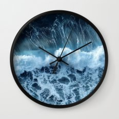 Sea Waves Wall Clock