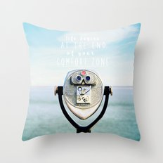 Life Begins At The End O… Throw Pillow