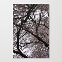 Canvas Print featuring Spring in London by Elise Tyv