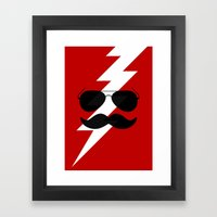 Boots Electric Framed Art Print