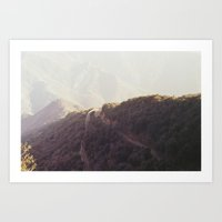 death of the wilderness. Art Print