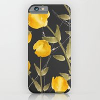 iPhone & iPod Case featuring Globeflower by Cecilia Andersson