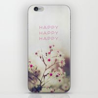 Happy Happy iPhone & iPod Skin