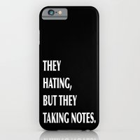 iPhone & iPod Case featuring HATERS by C O R N E L L