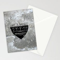 Like a Bandit Stationery Cards