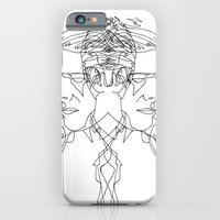 iPhone & iPod Case featuring Duo Bowie by Liz Shattler