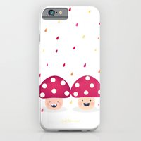 iPhone & iPod Case featuring The Twins by Piktorama