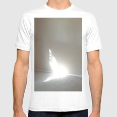 Angel In My Room Mens Fitted Tee White SMALL
