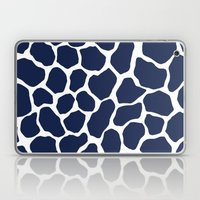 Giraffe Animal : Navy Laptop & iPad Skin