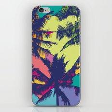 Palm tree iPhone & iPod Skin