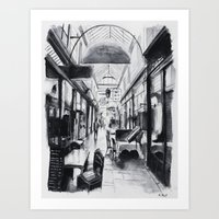 Passage des Panoramas - Paris Art Print