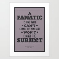 Fanatic Art Print
