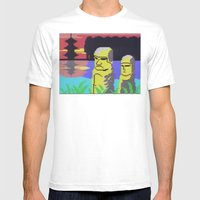 Tiki Mens Fitted Tee White SMALL