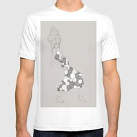 Japanese Couture Fashion… Mens Fitted Tee White SMALL