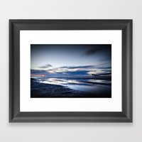 Edge Of Darkness Framed Art Print
