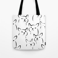 Mate,Friends,French Bull… Tote Bag