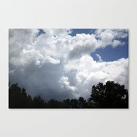 Clouds #2 Canvas Print