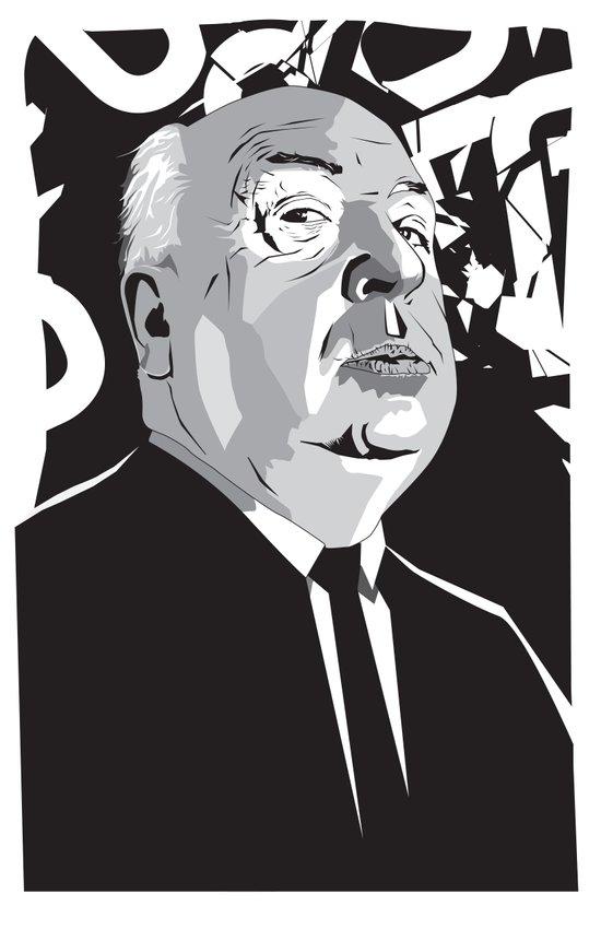 Hitchcock Art Print