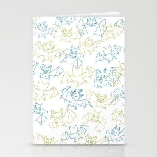 Bat Butts! Stationery Card