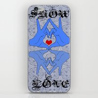 Show some love iPhone & iPod Skin