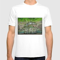The Ghosthouse Mens Fitted Tee White SMALL