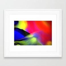 Aurore Australe Framed Art Print