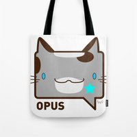 Convo Cats! Opus Tote Bag