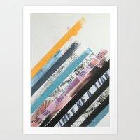 STRIPES 6 Art Print