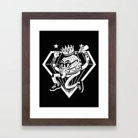 Burger King Framed Art Print