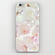 Glittering Pastel Flora… iPhone & iPod Skin
