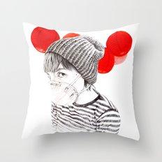 MASK + LANTERNS Throw Pillow