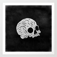 Skull! Art Print