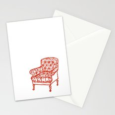Red Chair Stationery Cards