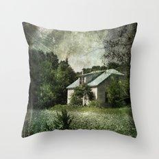 The Cloverfield House Throw Pillow