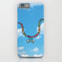 snake skate iPhone 6 Slim Case