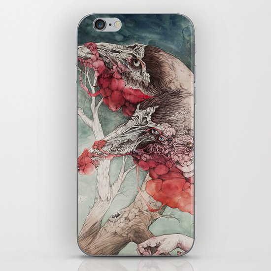 """""""Insatiable"""", as a print iPhone & iPod Skin"""