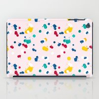 happy confetti iPad Case